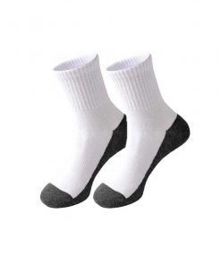 White Socks with Grey Base (Primary School)